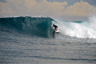 Stuart Ferrier of Pt Lonsdale School of Surfing