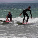 Point Lonsdale learning to surf